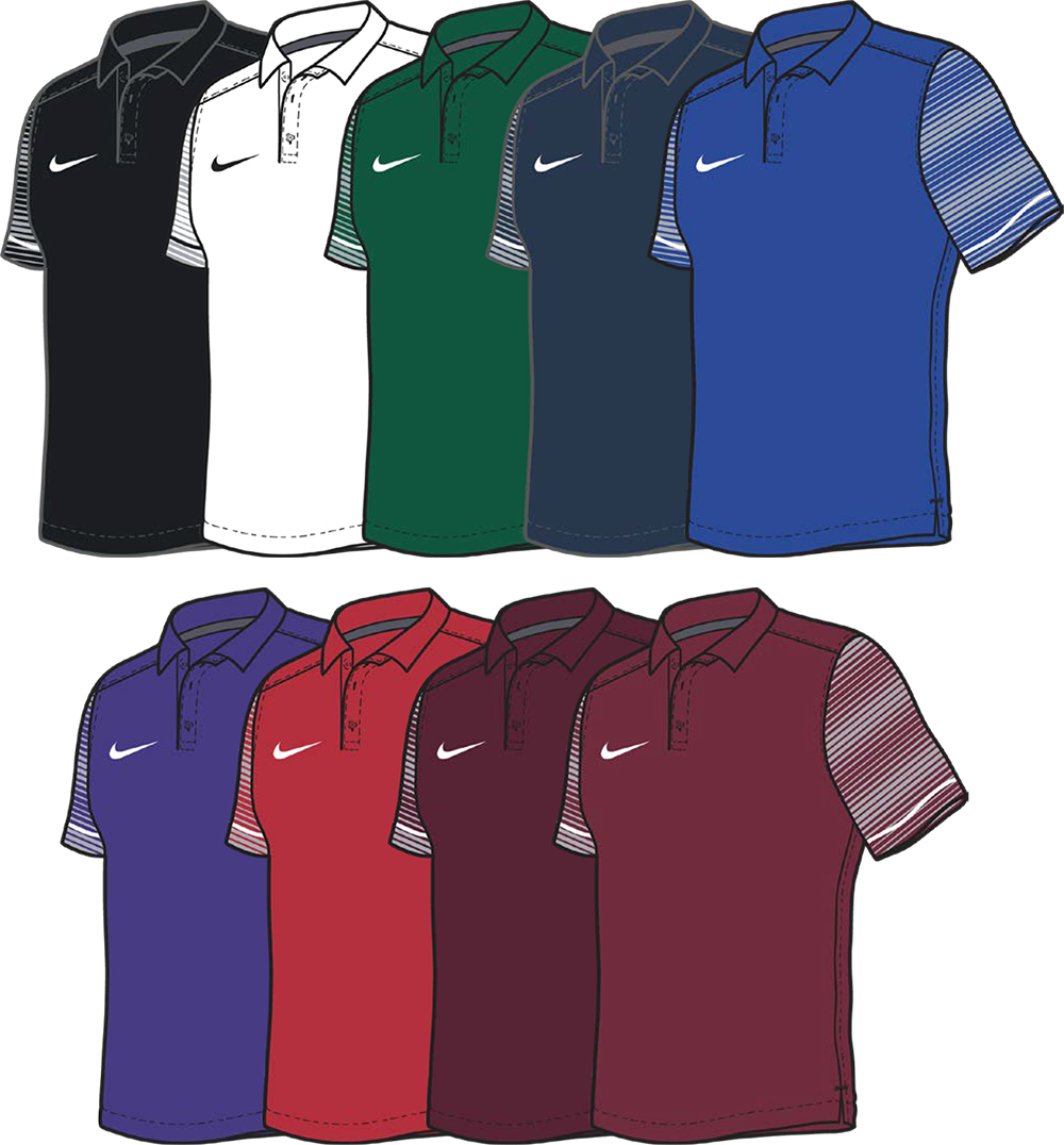 Early Season Custom Nike Polo Shirts