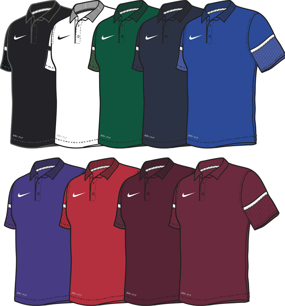 Team Issue - Custom Nike Polo Shirts