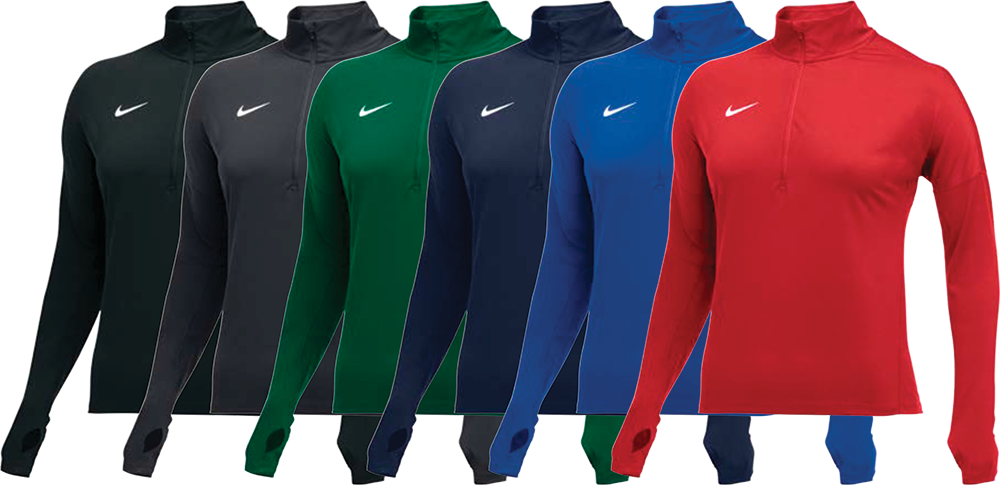 Nike Women's Custom Half Zip Pullovers