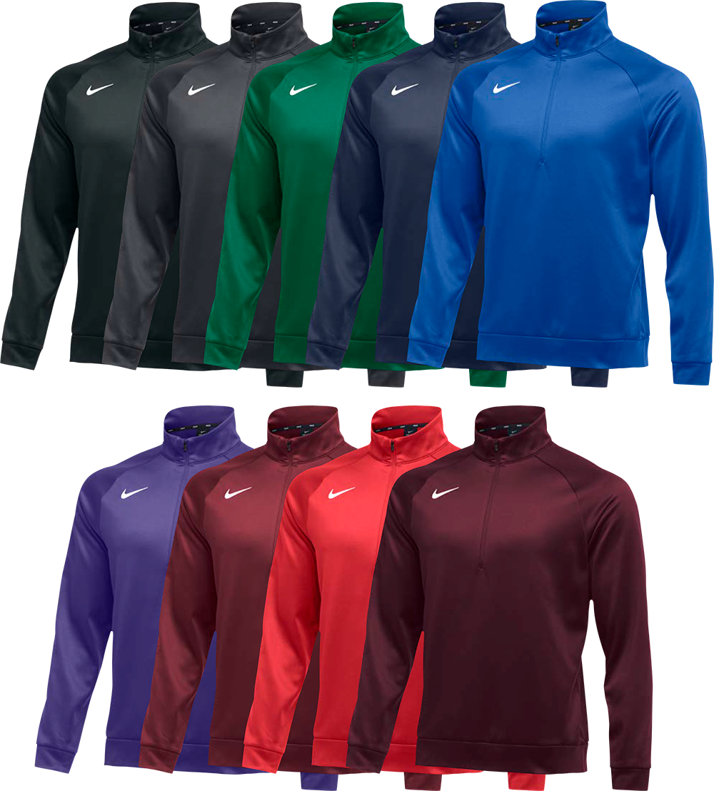 Custom Nike Sweatshirts - Therma Quarter Zip Pullover
