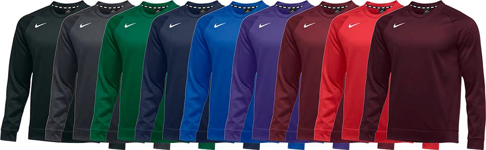 Nike Therma Custom Crewneck Sweatshirts